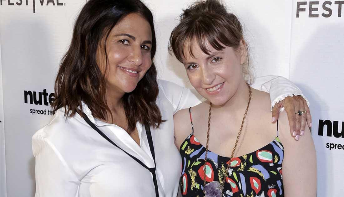 Jenni Konner och Lena Dunham.