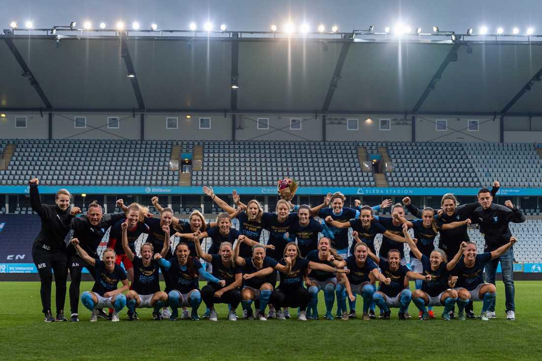 Malmö FF:s damlag.