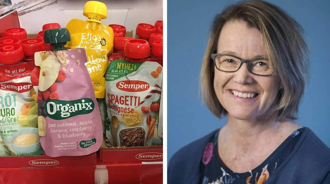 Cecilia Olsson har forskat mycket kring barn och måltider.