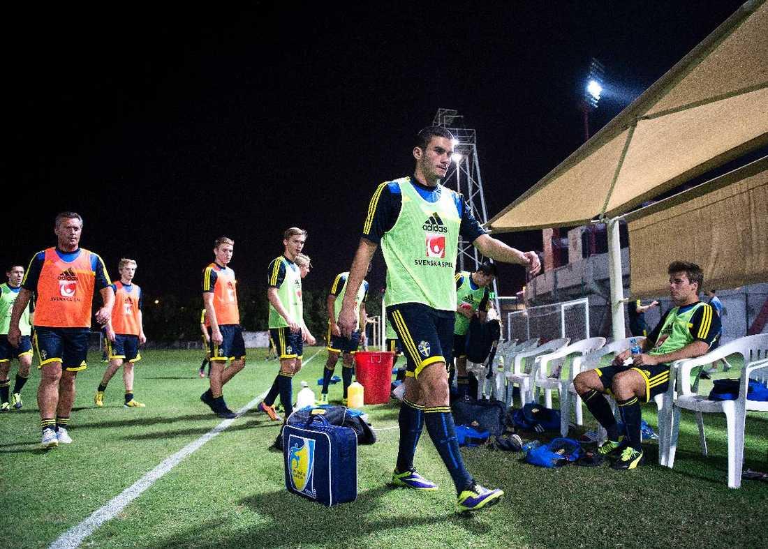 Valmir Berisha och Sverige skakade om Nigeria i 3–3-matchen i gruppspelet. Dagens match gäller betydligt mer.
