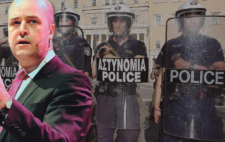 VAD HÄNDER MED EUROPA?  Just nu debatteras framtiden för det europeiska samarbetet intensivt – och vissa länder kan till och med komma att lämna unionen. Men Fredrik Reinfeldt väljer att använda krisen för att plocka kortsiktiga poänger. (Bilden är ett montage.)
