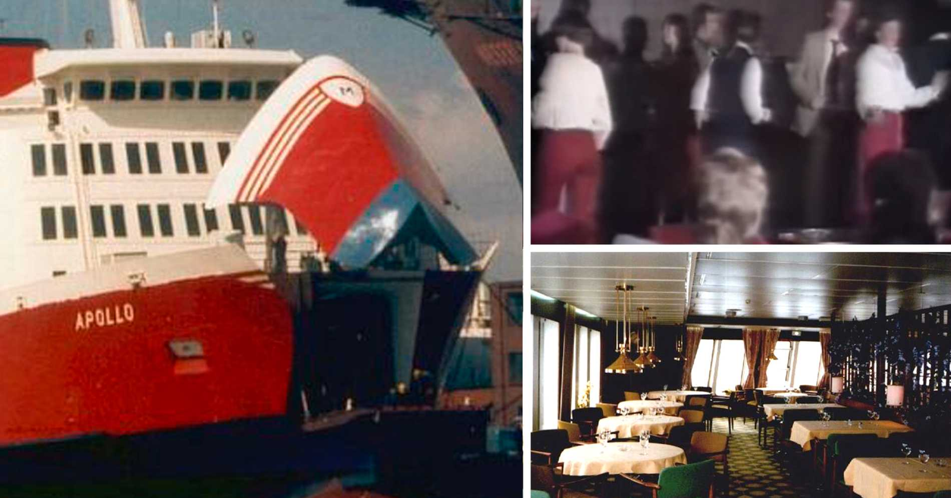 Den klassiska Finlandsbåten ska sänkas i havet