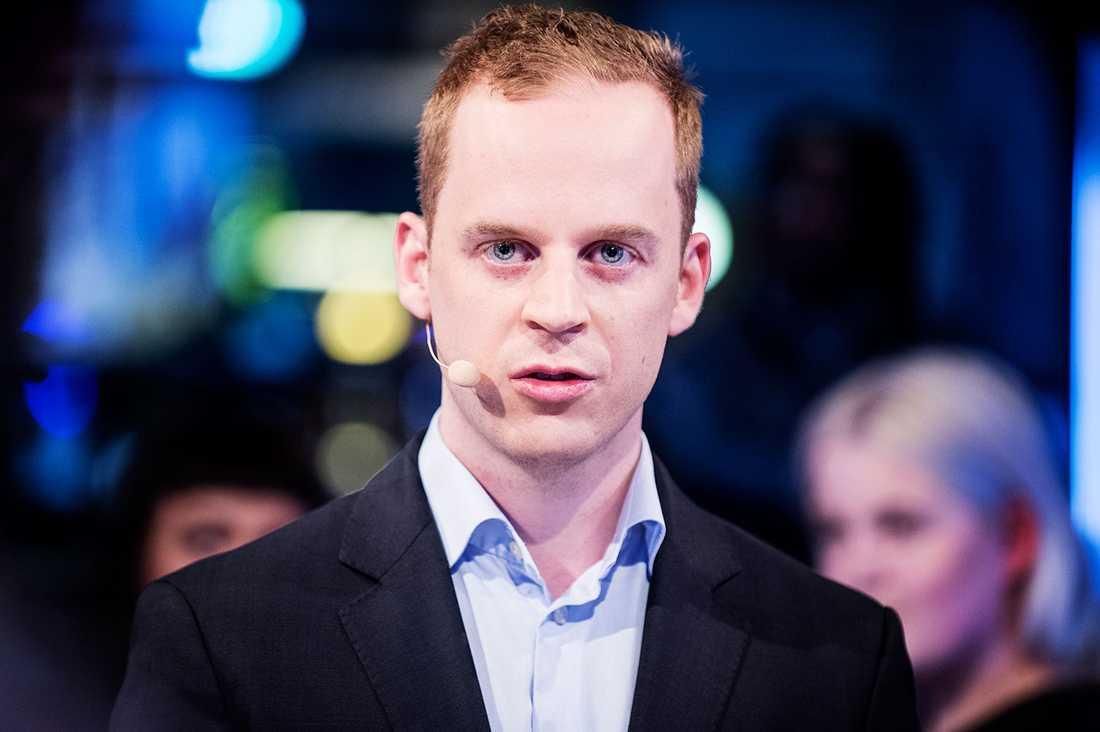 Gustav Kasselstrand, ordförande i SDU.