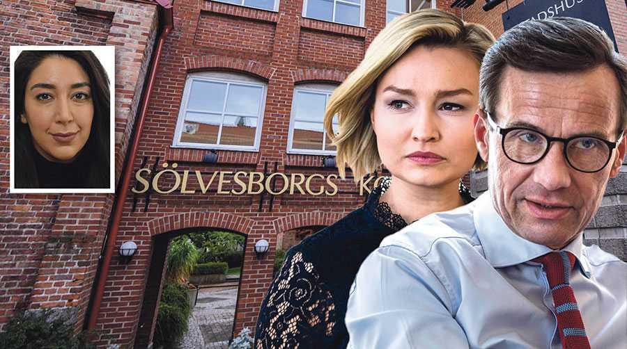 Som grundläggande demokratiska partier har KD och M en skyldighet att markera mot sina kommunpolitiker i Sölvesborg, skriver Lawen Redar.