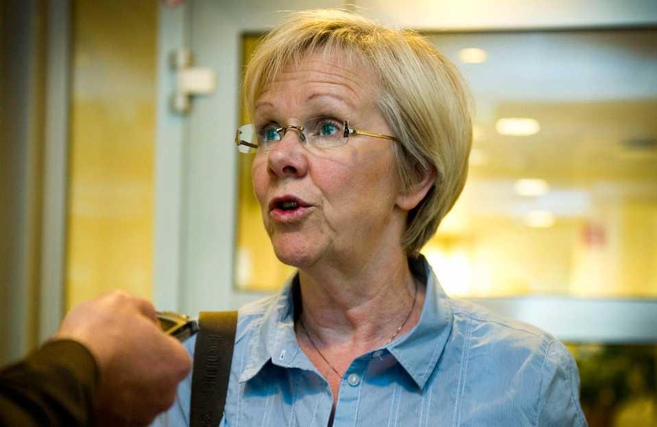 """""""Vidrigt och fullständigt oacceptabelt"""", säger Wanja Lundby-Wedin. (Arkivbild)"""
