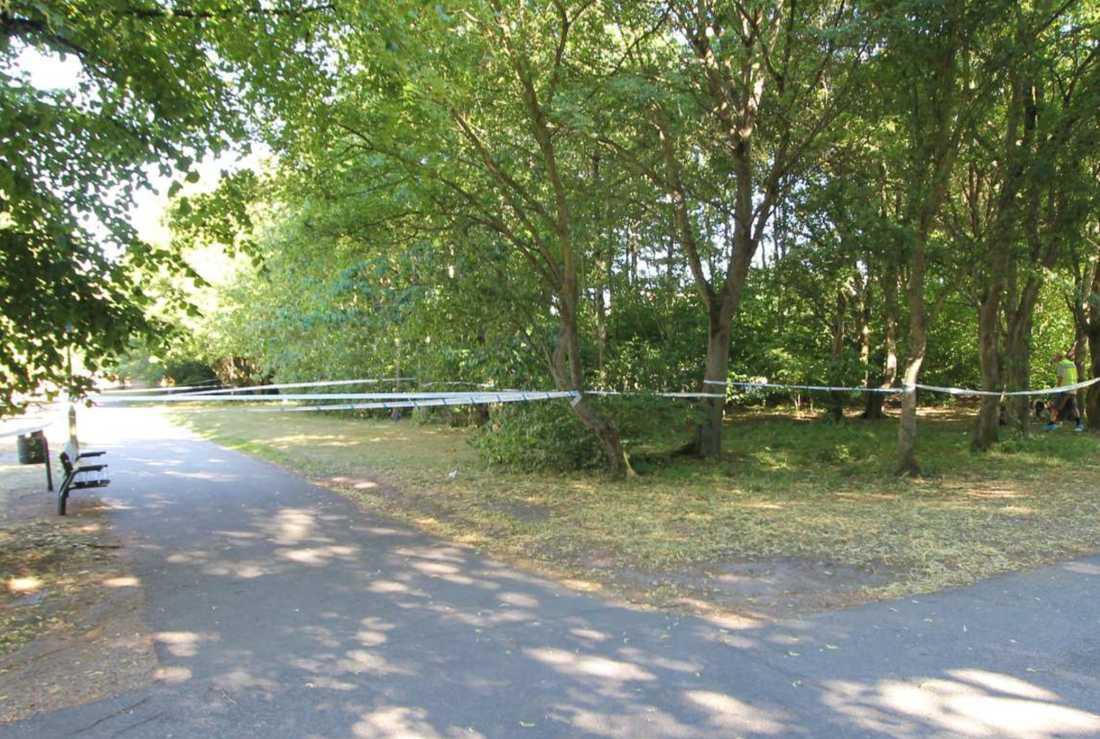 Parken i Nydala i Malmö.
