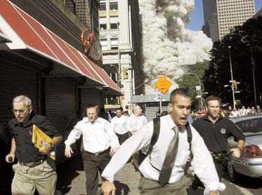 New York 11/9 2001.