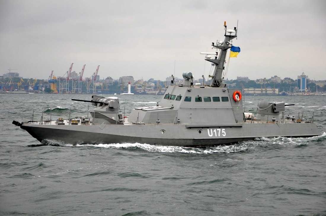 Två av fartygen som beslagtogs var av typen Berdyansk.