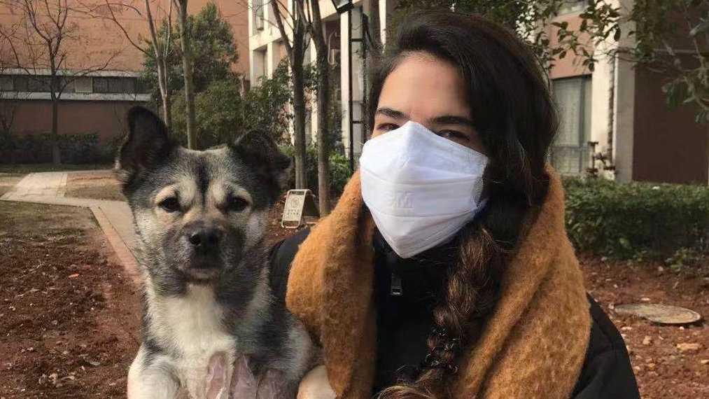 Angelica Kristiansson Herrera bor i Wuhan i Kina, som stängts ner till följd av virusutbrottet som startade i staden.