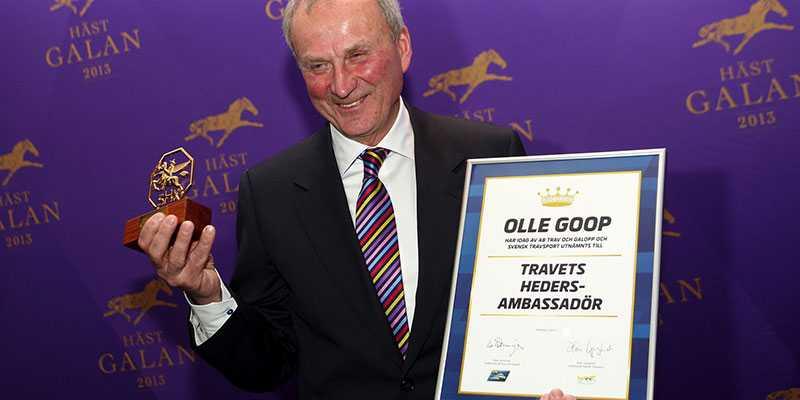"""Olle Goop är utnämnd till Travets Hedersambassadör"""""""