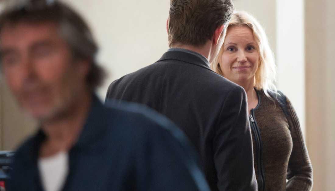 """I säsong fyra av """"Bron"""" är Sofia Helin tillbaka som polisen Saga Norén."""