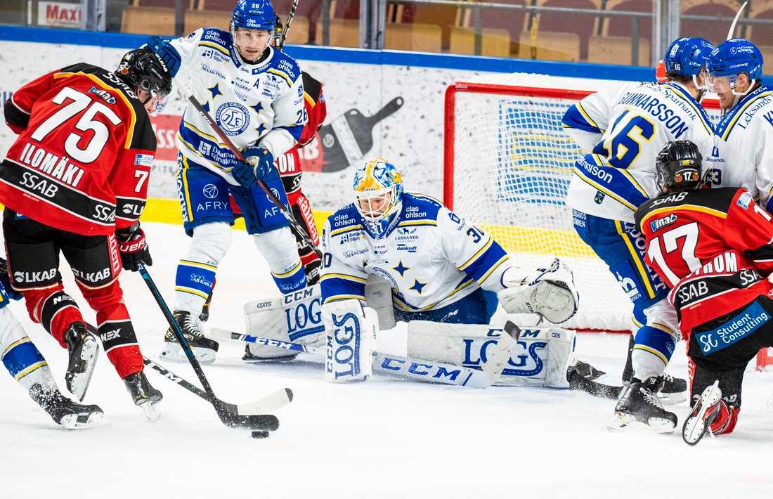 Leksand är senaste SHL-laget som drabbats av coronasmitta och Luleå saknar flera spelare på grund av sjukdom. Arkivbild.