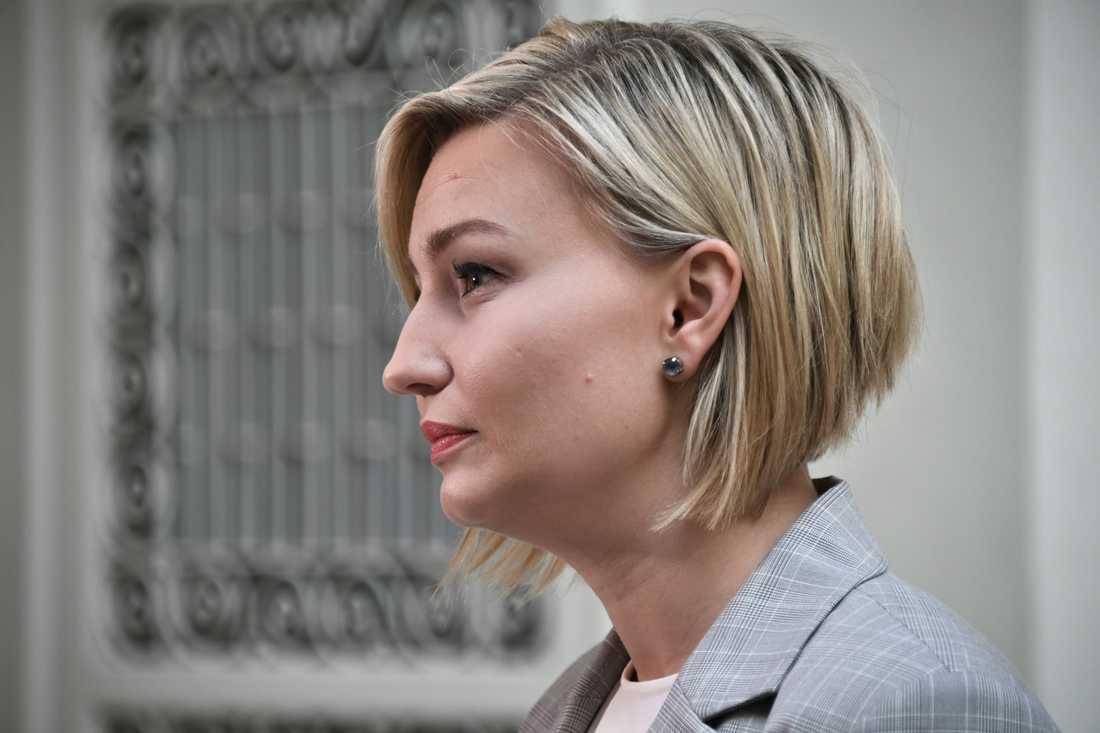 Kristdemokraternas Ebba Busch Thor vill att allianspartierna lägger fram ett eget budgetförslag i riksdagen.