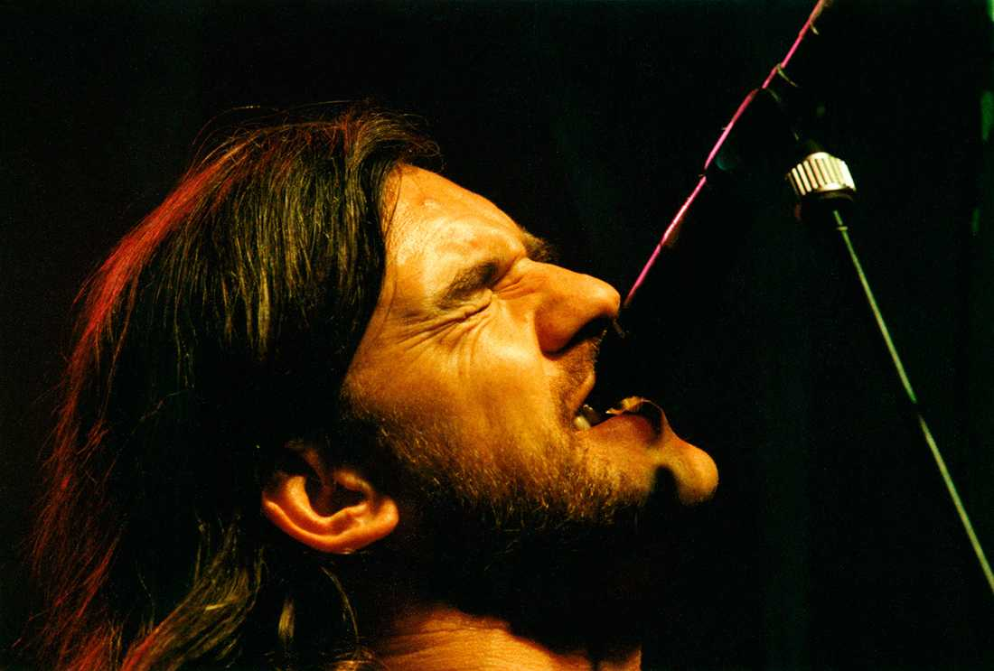 Lemmy på Fryshuset i Stockholm. 1991.