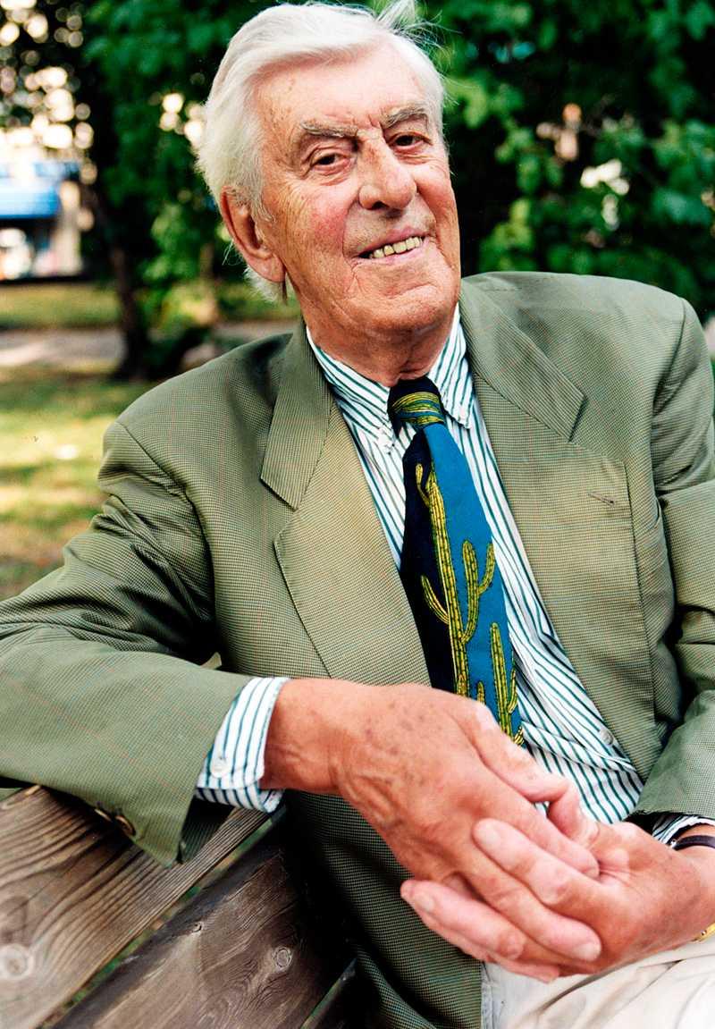Martin Ljung blev 93 år gammal.