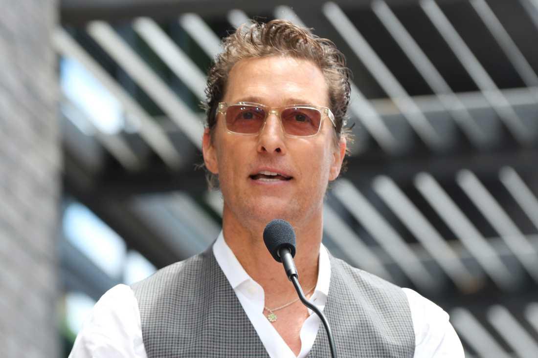 Matthew McConaughey utesluter inte att bli politiker. Arkivbild.