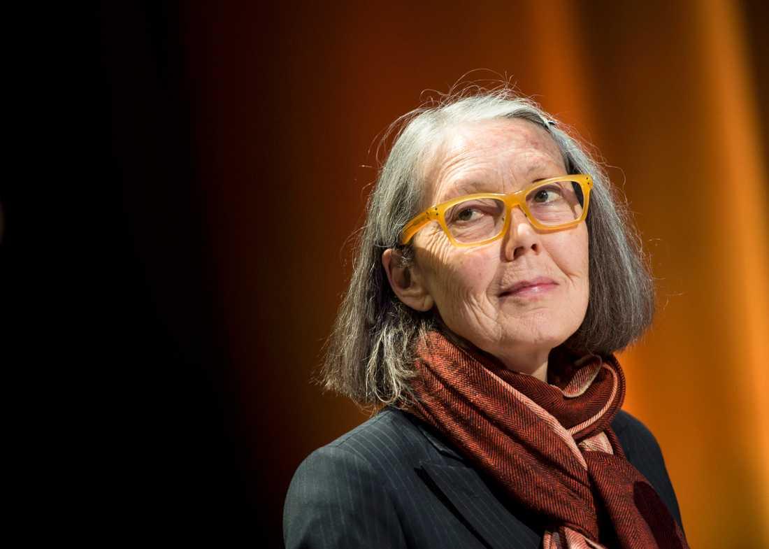 Kanadensiska författaren Anne Carson (född 1950) är mångfaldigt prisbelönad för sin originella skrivkonst.