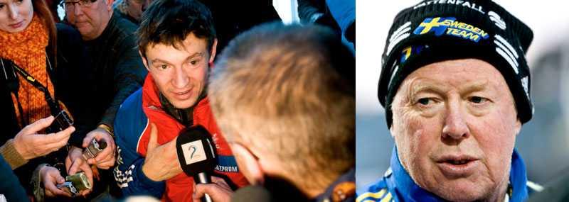 """Pichler borde inse konsekvenserna"", säger Makism Tjudov. Till höger svenske ledaren Wolfgang Pichler."