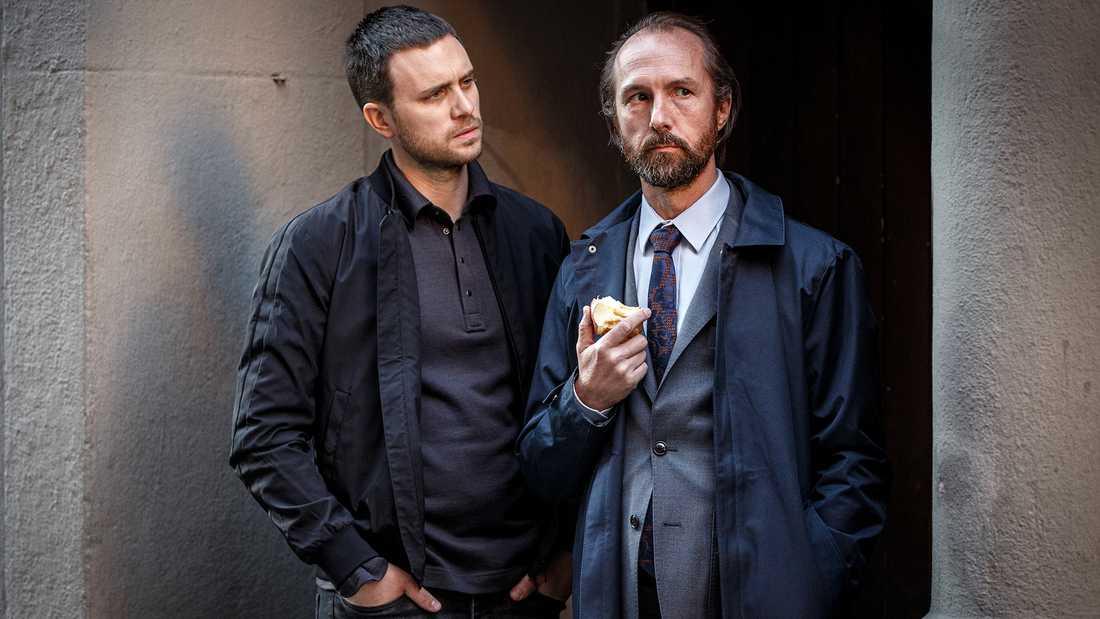 """Martin Wallström och Olle Sarri i """"Döden i Samarra"""""""