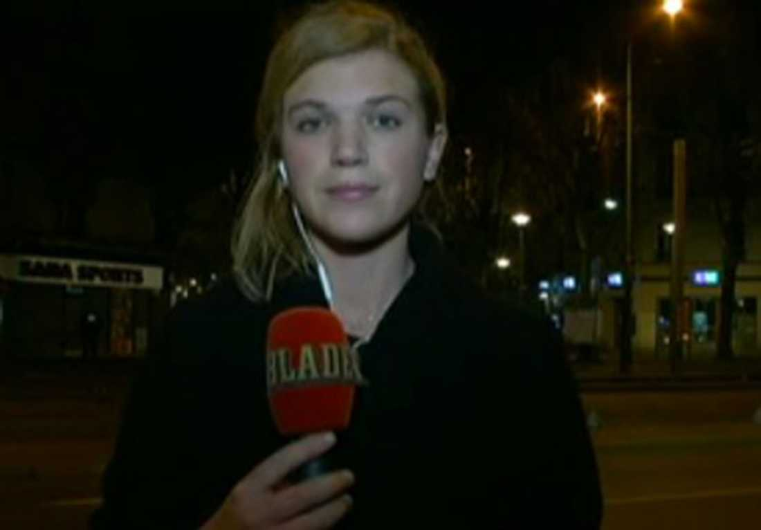 Aftonbladets Malin Johansson på plats i Saint-Denis i norra Paris.