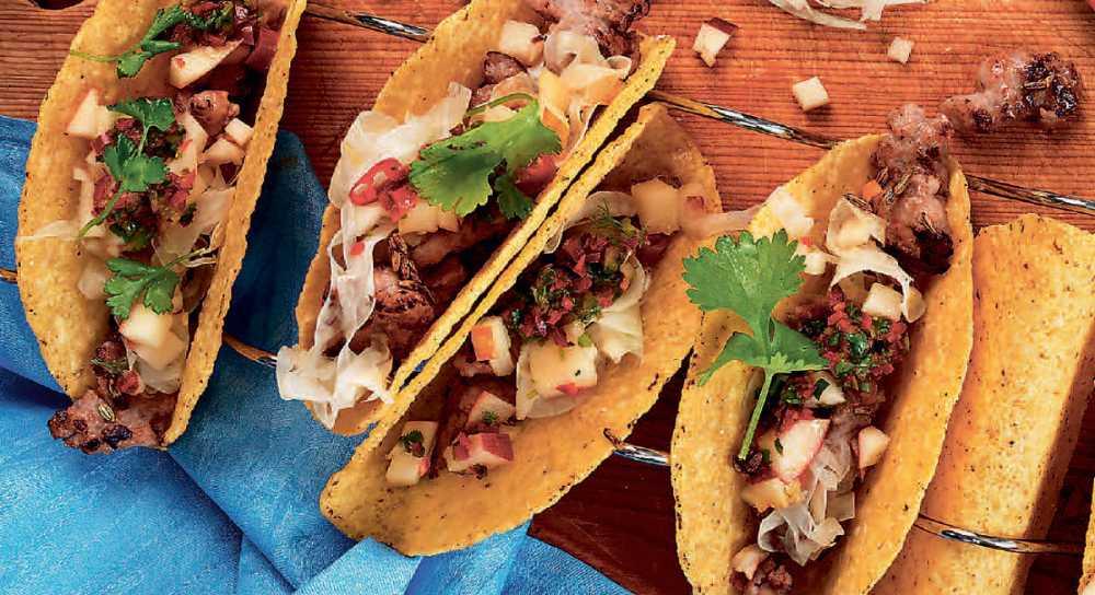 Picklade chilifrukter blir heta kompisar till tacos.