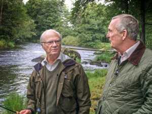 Claes Elfsberg intervjuar kung Carl XVI Gustaf inför 70-årsdagen.