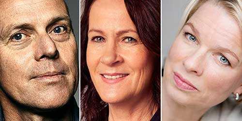 Geir Gulliksen, Vigdis Hjort och Linn Ullmann har alla skrivit romaner som väcker frågor om samspelet mellan dikt och verklighet.