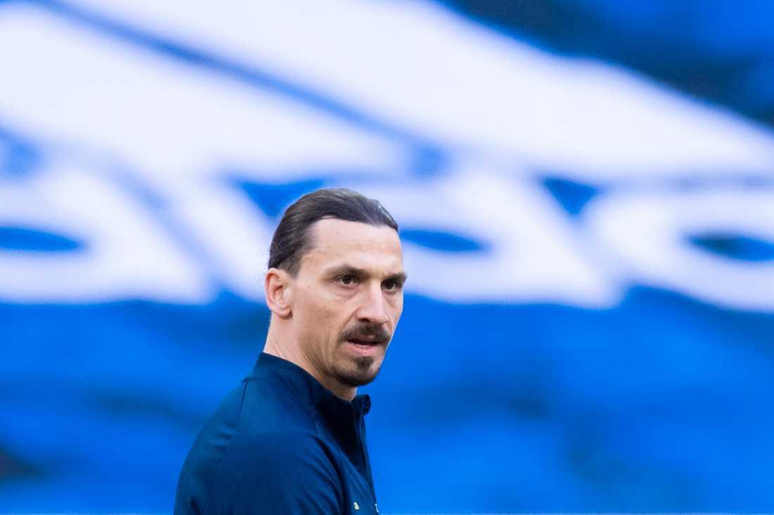 Zlatan Ibrahimovic gör comeback i landslaget i samband med kvalet till VM i Qatar 2022.