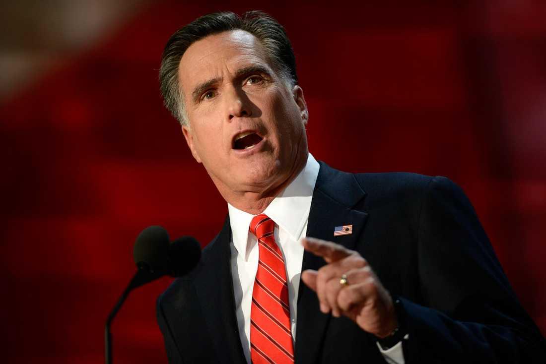 Mitt Romney i Tampa  natt