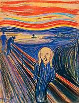 """""""Skriet"""" av Munch."""