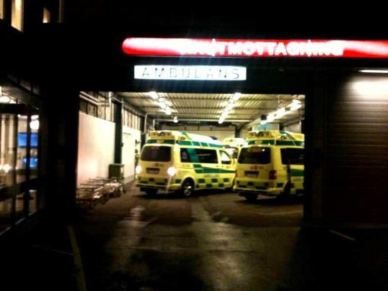 Flera skadade har förts till Universitetssjukhuset i Linköping.