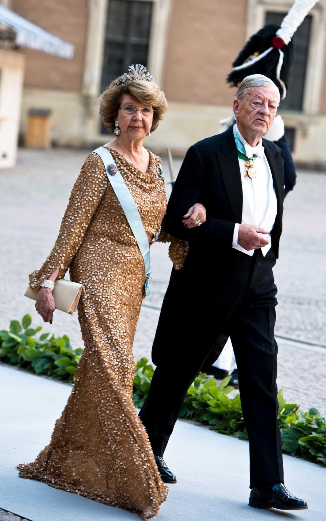 Bröllopet mellan prinsessan Madeleine och Chris O'Neill.  Prinsessan Desirée och make Niclas Silfverschiöld.