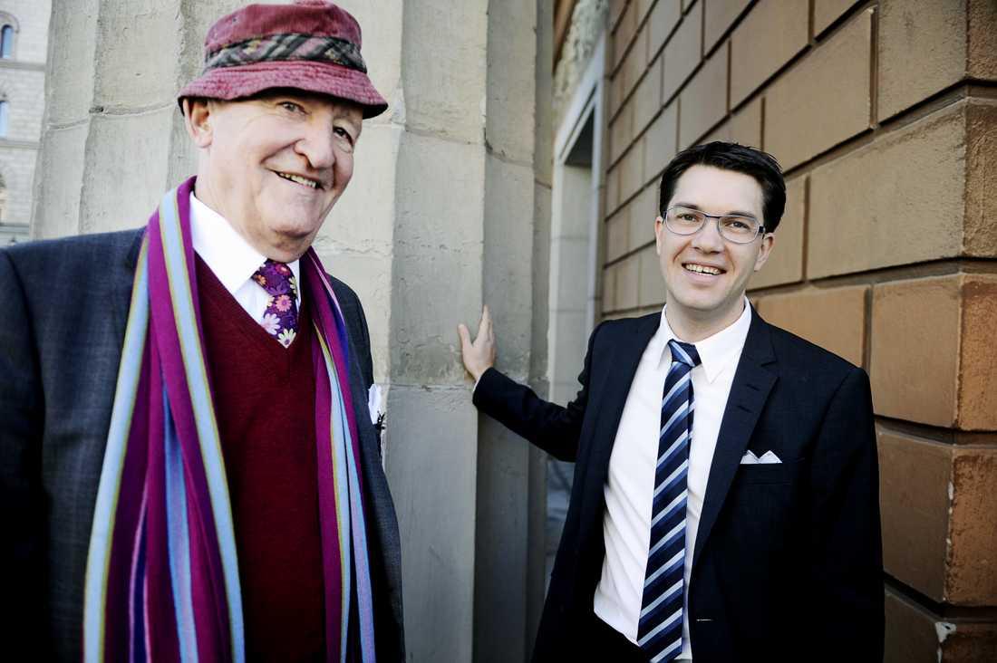 Ian Wachtmeister och Jimmie Åkesson 2010