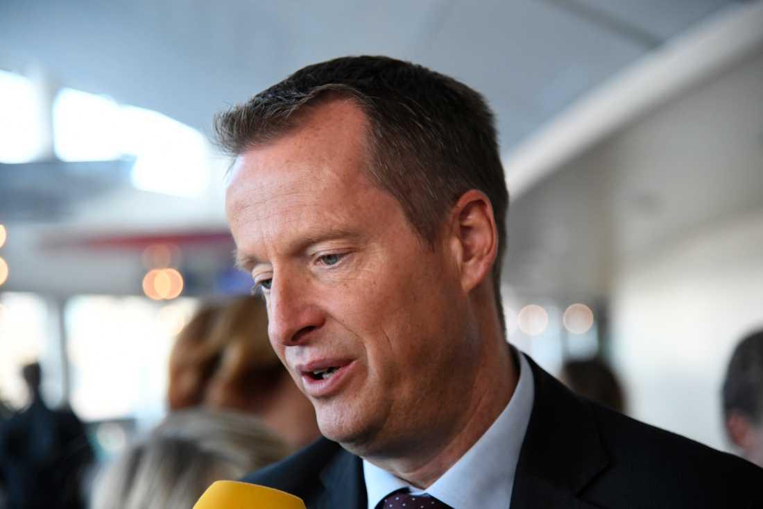 Anders  Ygeman, energiminister.
