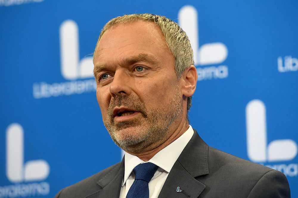L-ledaren Jan Björklund.