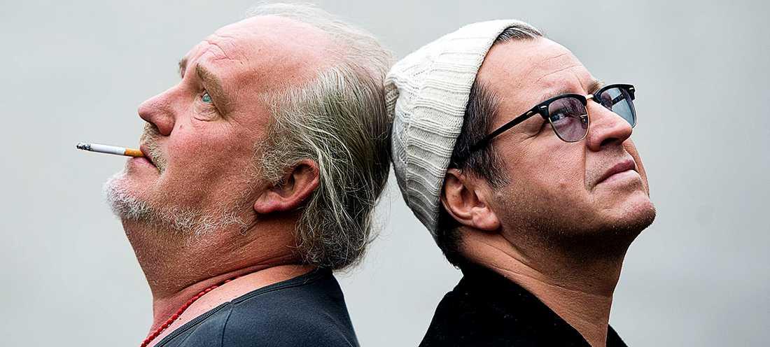 Plura Jonsson och Mauro Scocco har startat podd tillsammans.