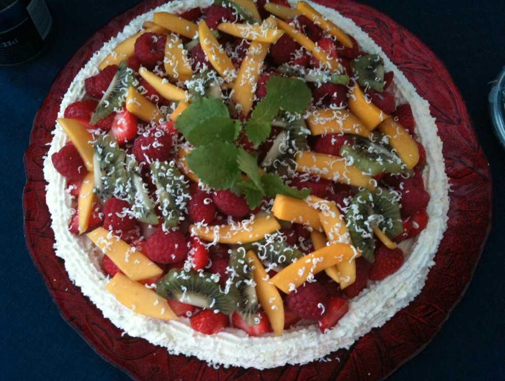 Eva Johansson skickade en bild på den här fina tårtan.