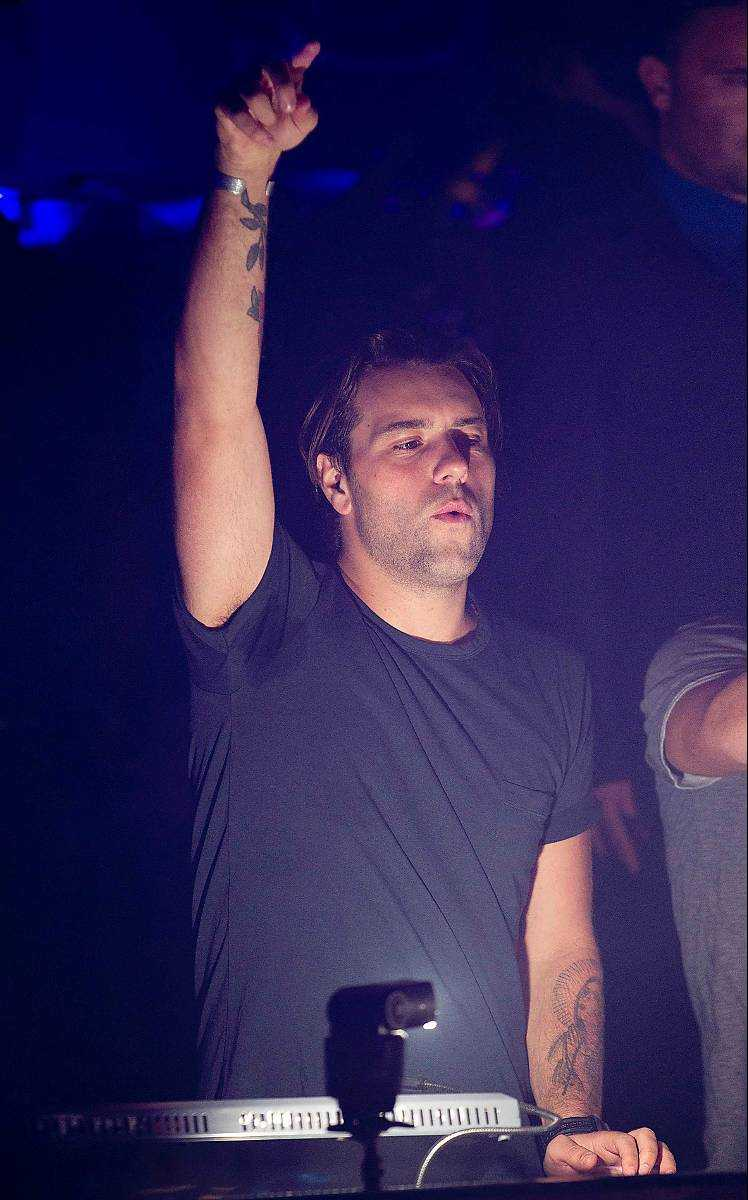 Sebastian Ingrosso ska festa med fansen ...