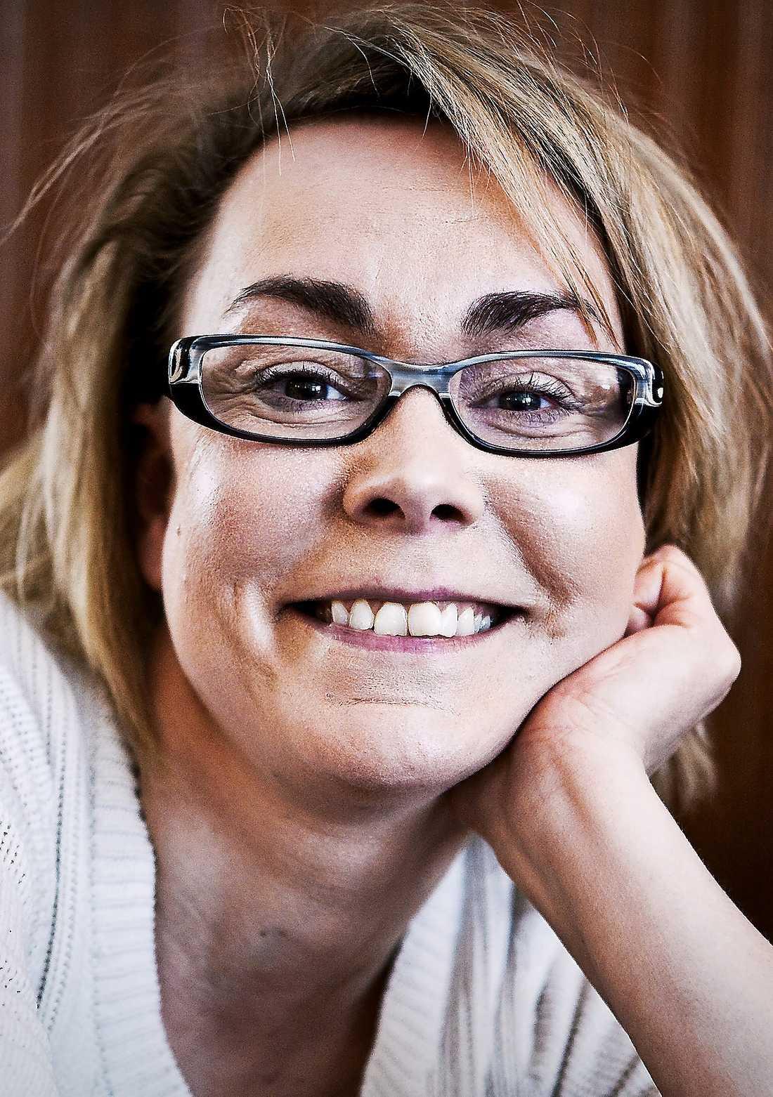 Maja Lundgren, författare. Foto: Lotte Fernvall