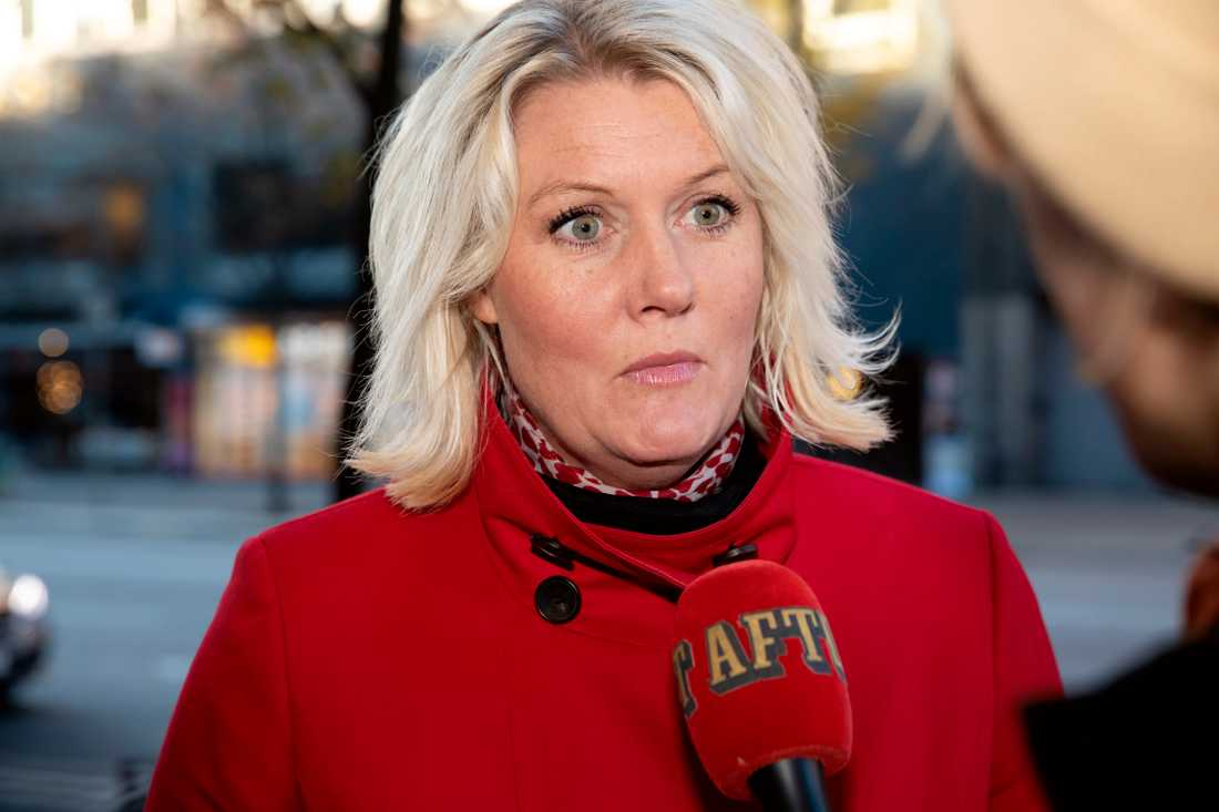 Partisekreterare Lena Rådström Baastad (S).