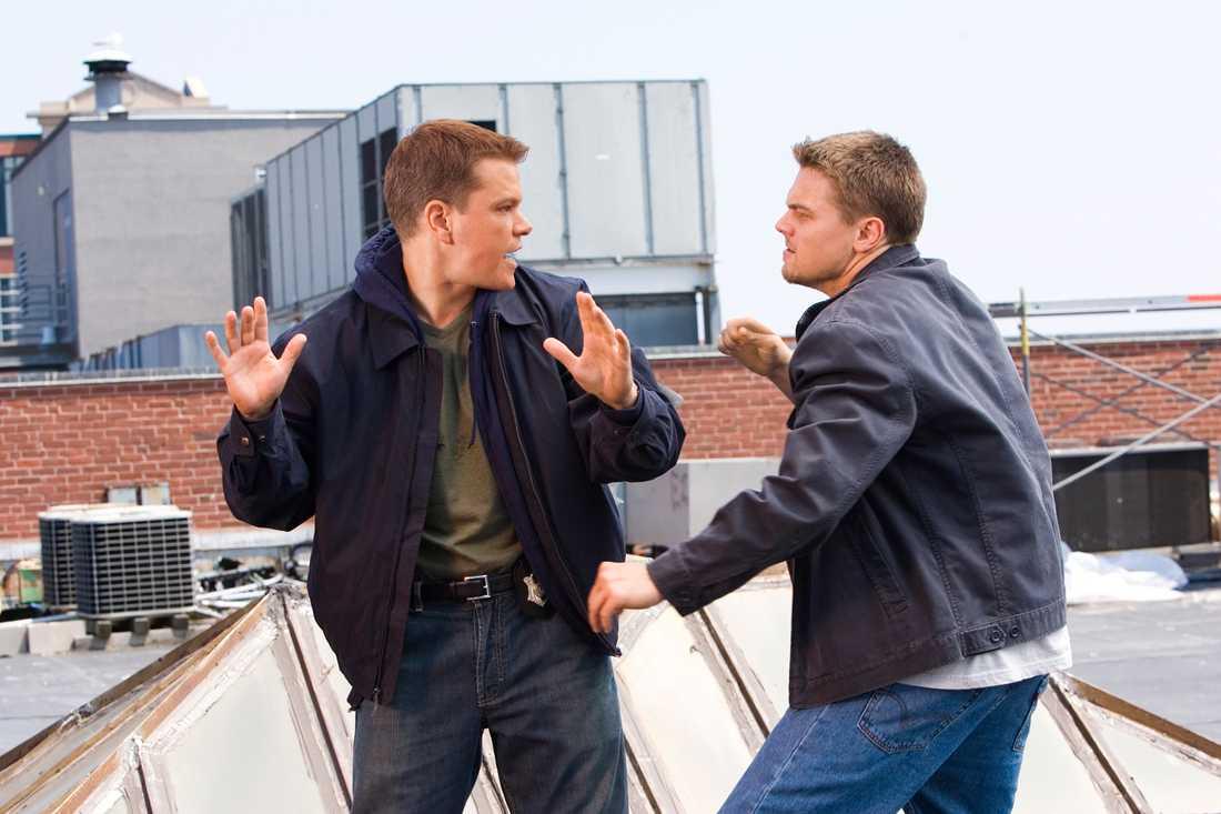 """Leonardo DiCaprio och Martin Scorsese får inte nog av varandra. (Bilden hämtad från """"The departed"""")."""
