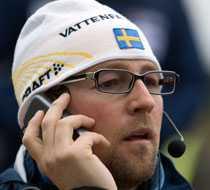 Förbundskaptenen Joakim Abrahamsson.