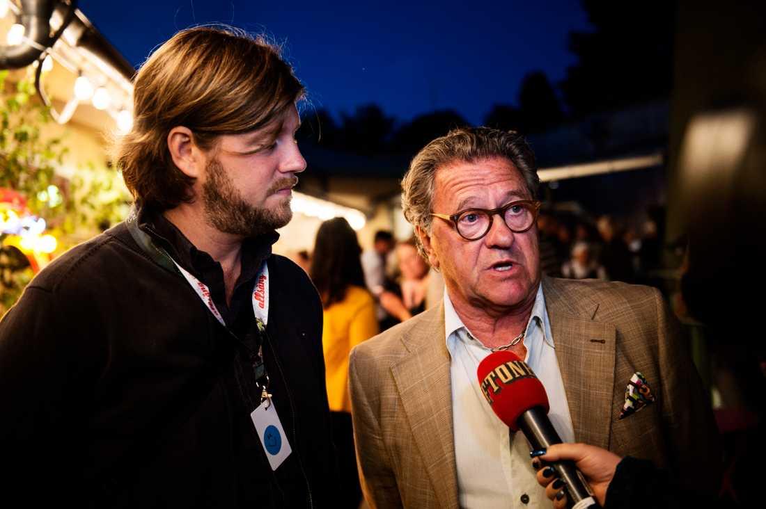 Anton och Tommy Körberg.