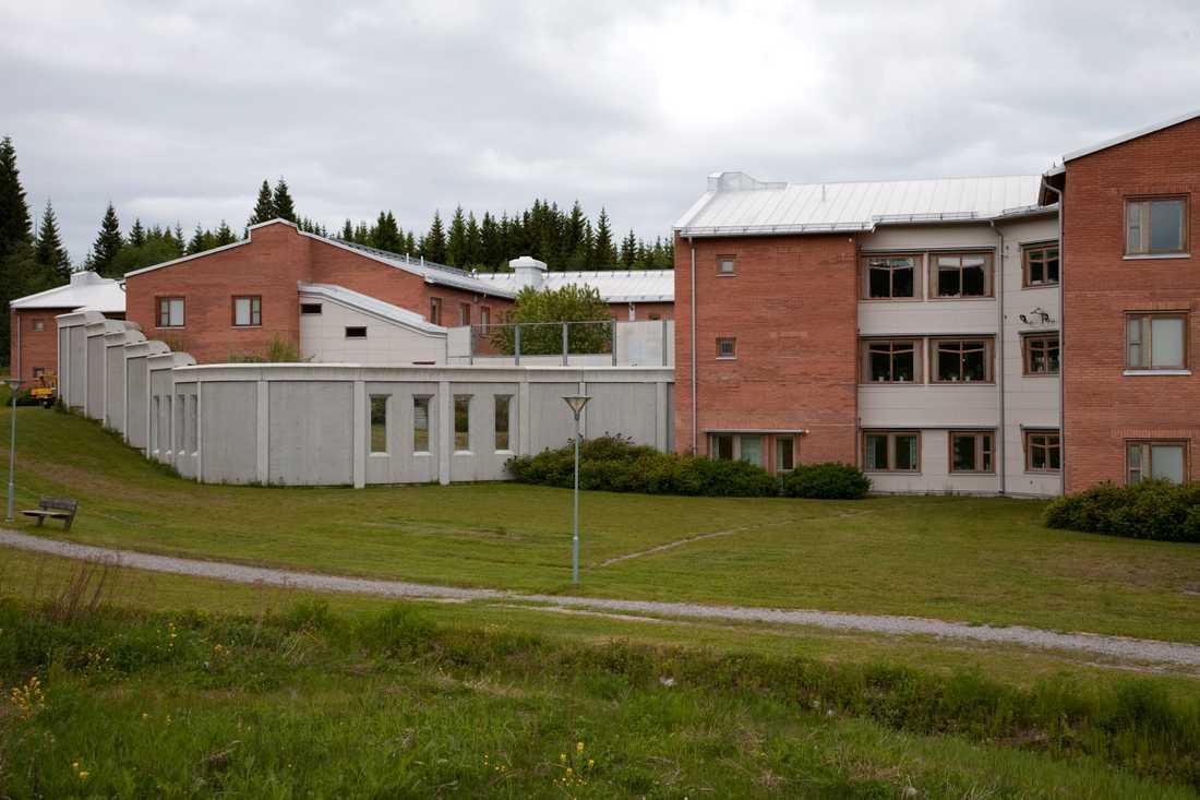 Här, på rättspsykiatriska kliniken i Sundsvall, vårdas Ragnar Nilsson.