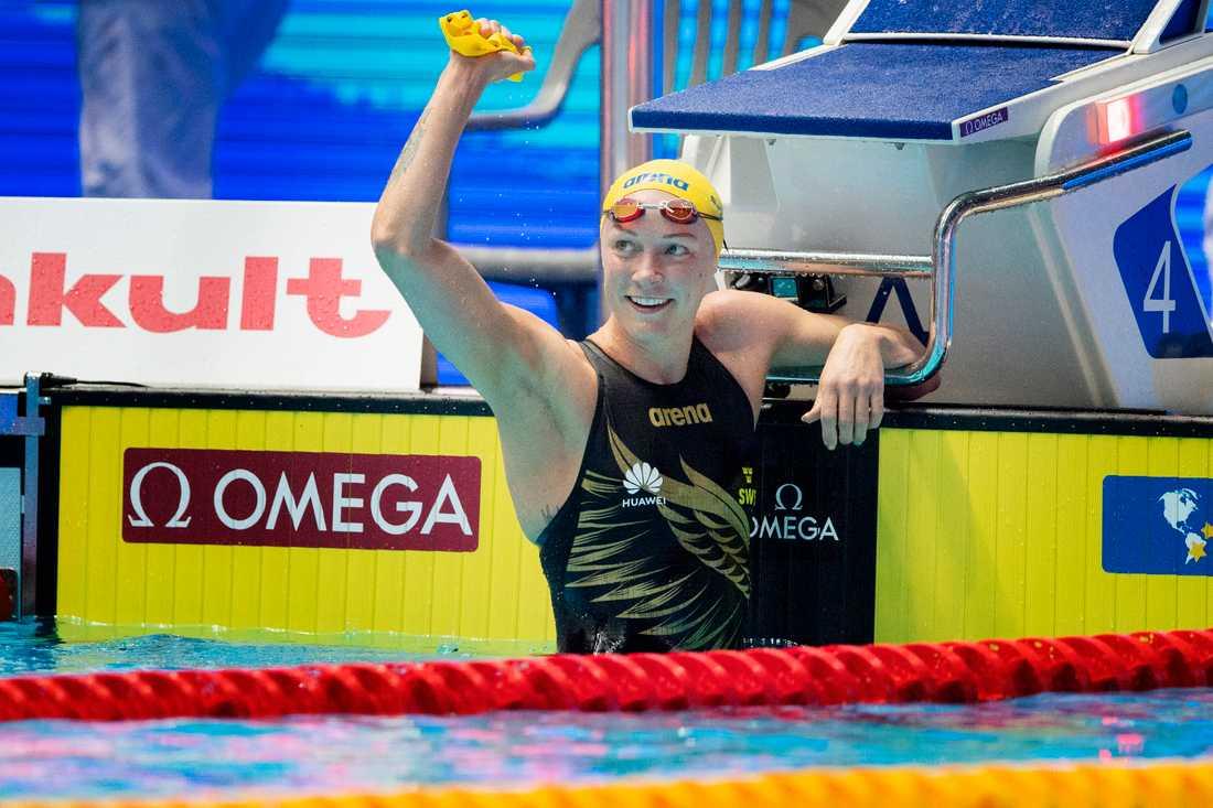 Sarah Sjöström var bäst av alla i nya ISL. Arkivbild.