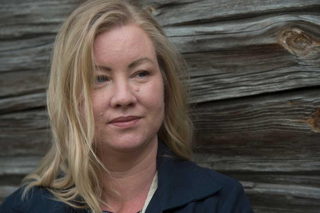Tågvärden Victoria Älverstad har inte lämnat hemmet i Nässjö sedan mitten av mars.