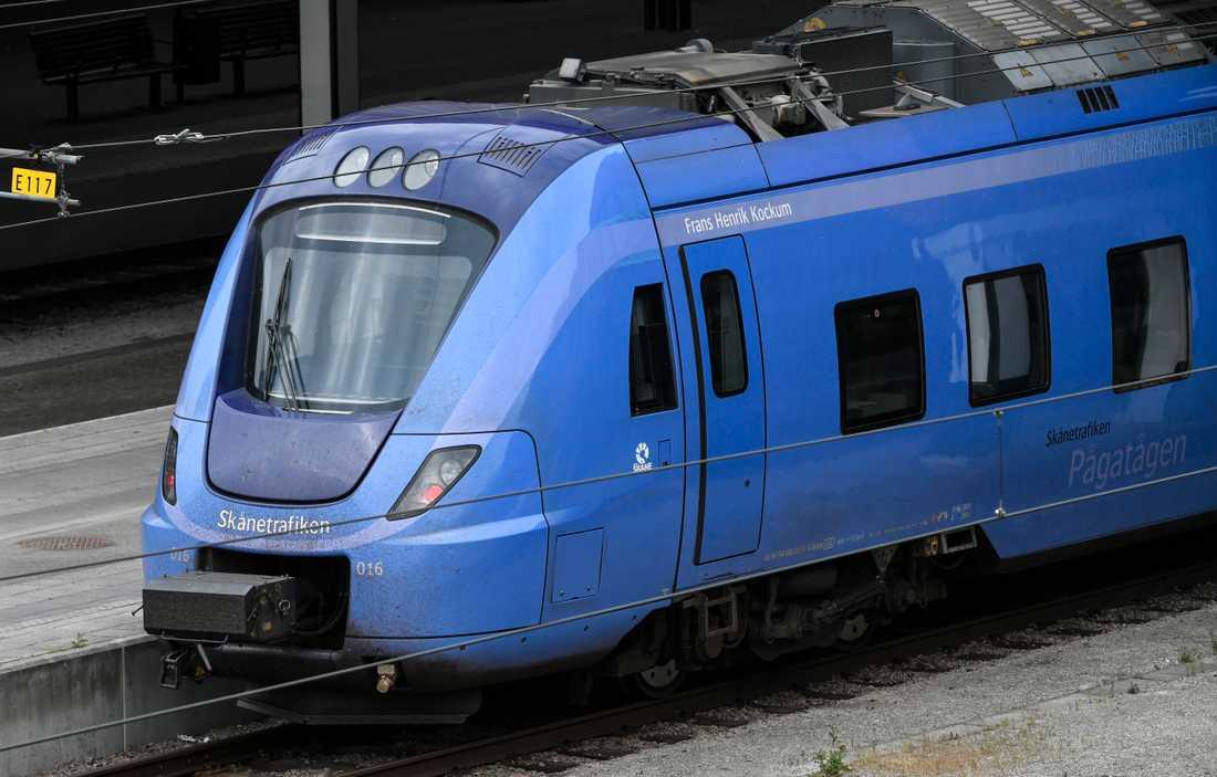 Både Pågatågen och Öresundstågen påverkas av tågstoppet. Arkivbild.