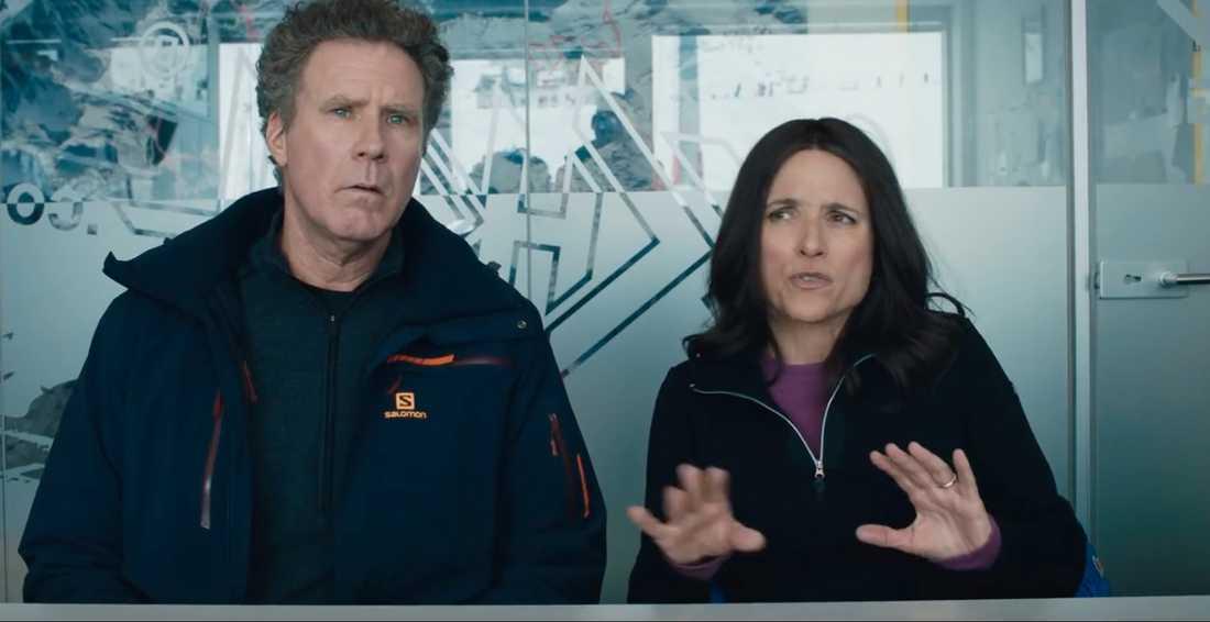 """Will Ferrell och Julia Louis-Dreyfus i """"Downhill""""."""