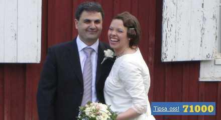 Vigdes av Persson Skolminister Ibrahim Baylan med sin Anna Nilsson efter ceremonin.