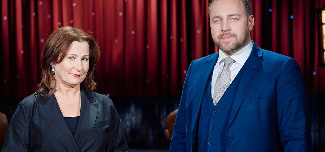 """Mattias Karlsson gästade Anna Hedenmos """"Min sanning""""."""